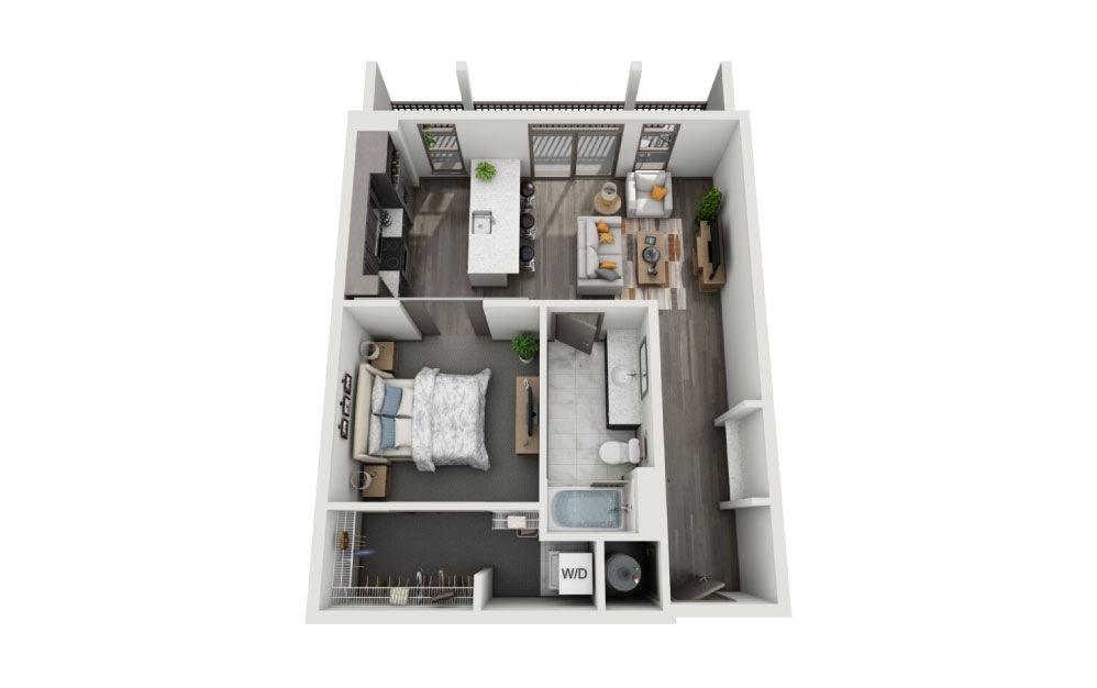 1 bedroom apartment for lease