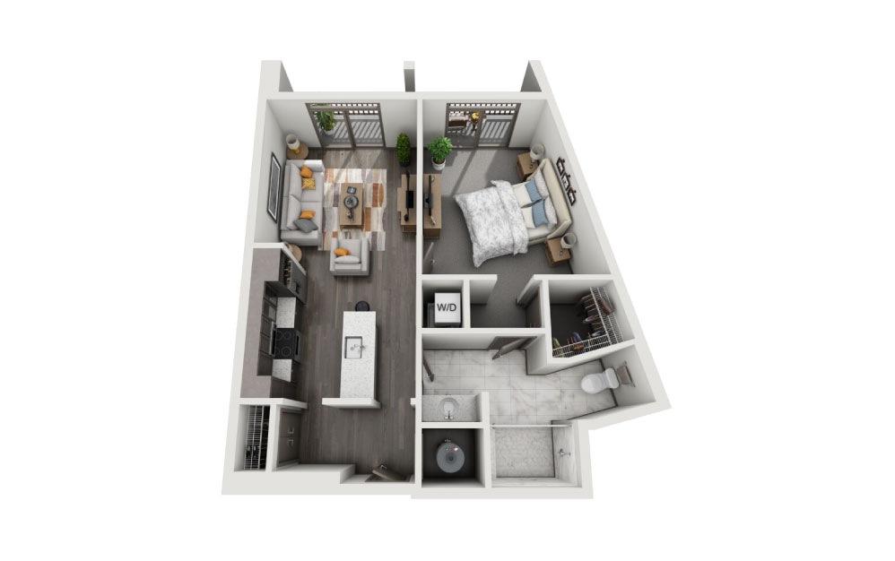1 bdrm apt for rent